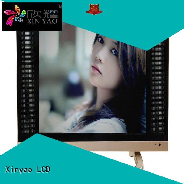 Custom clarion 17 inch flat screen tv 12v Xinyao LCD