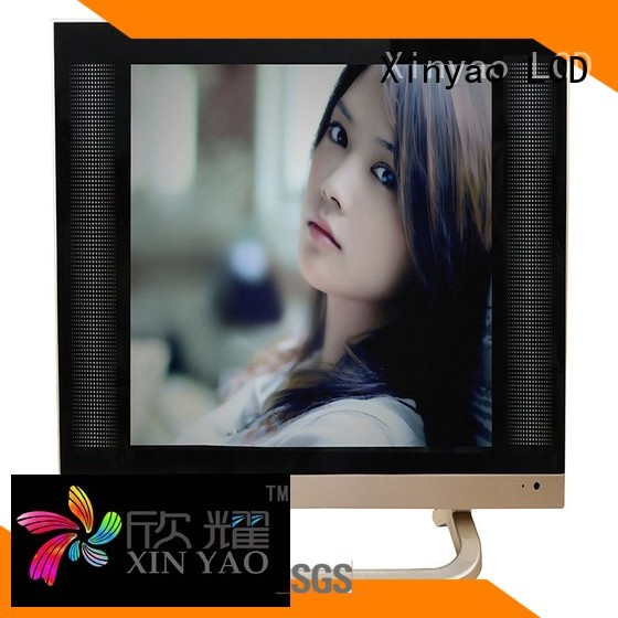 usb hd 17 Xinyao LCD Brand 17 inch flat screen tv supplier