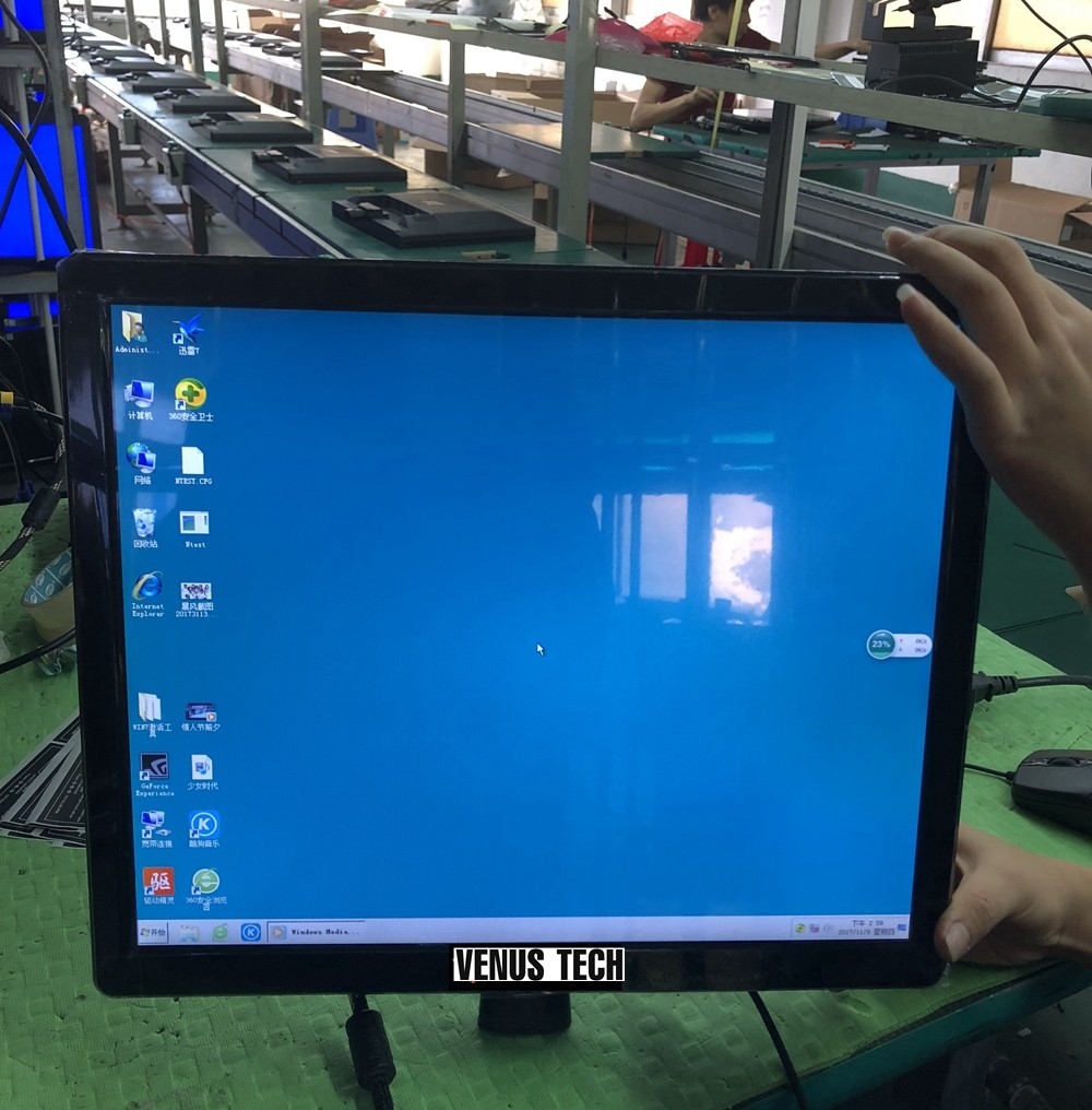 Xinyao LCD Brand thin optional input 19 lcd monitor manufacture