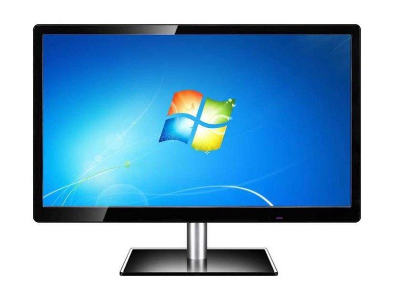 Cheap price black color AC 220V DC 12V DVI USB output lcd monitor 27