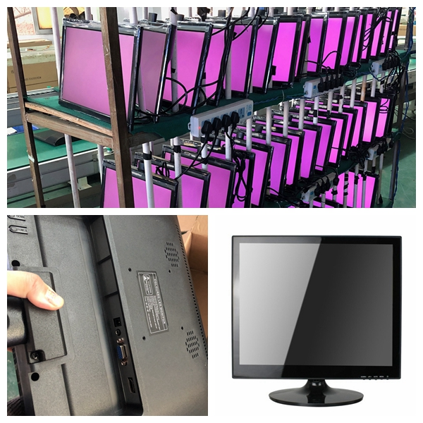computer professional screen monitor Xinyao LCD Brand 15 inch lcd monitor supplier