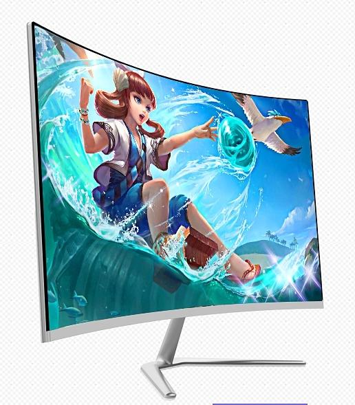 curve monitor 23.6inch/24inch computer pc monitor slim body